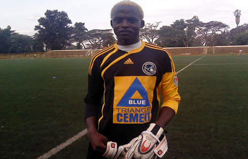harambee stars keeper - obungu- will soon turn pro'