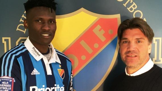 Micheal Olunga signs a four year deal with Djurgarden