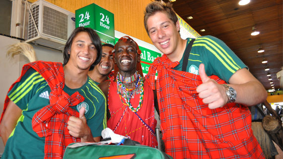 Brazilian club Palmeiras FC jets in ready for Gor Mahia