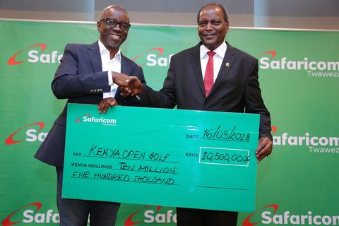 The 2018 Kenya Open Sponsorship Kitty receives a double boost