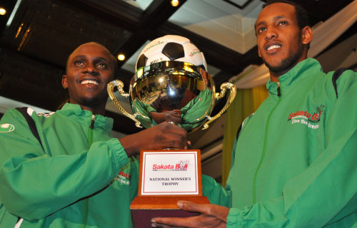 SAFARICOM SAKATA BALL challenge officially launched