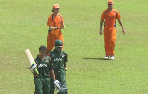 Kenya Cricket team lose to Netherlands in final warm up match