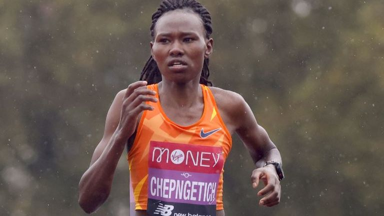 Ruth Chepngetich sets world half marathon record in Istanbul