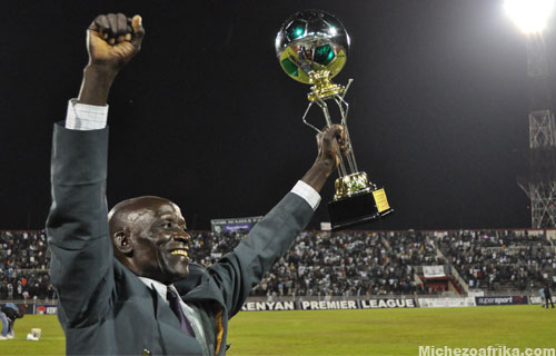 Kenyas all time top scorer Maurice Sonyi honored