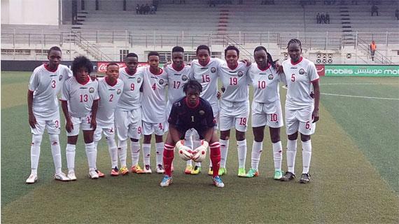 Starlets coach, Ouma names squad to confront Algeria