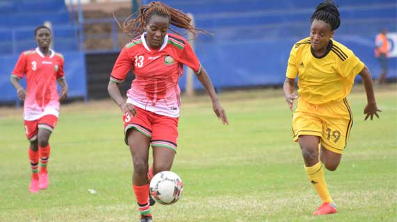 Harambee Starlets beat Ethiopia in friendly