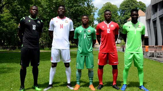 Harambee Stars get new kit consignment for AFCON duties