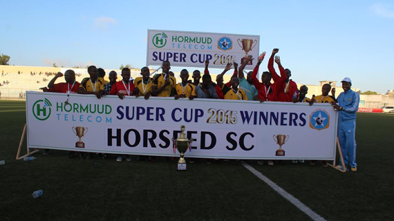 Horseed crowned 2015 Somalia Super cup Champions