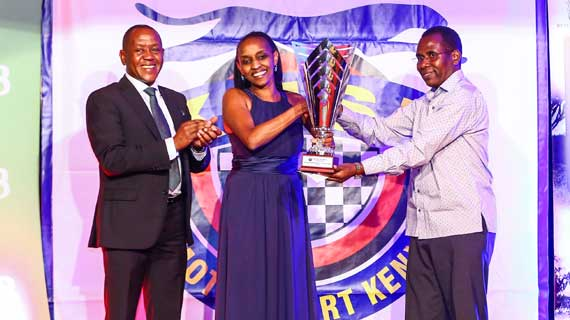 Female navigator Tuta Mionki  crowned 2018 Motor Sports Personality