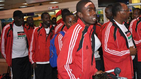Kenyan U-23 soccer team finally jets off for Asmara