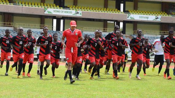 Harambee Stars U-20 trials ends