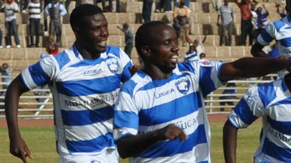 Leopards beat Thika to maintain grip at the top