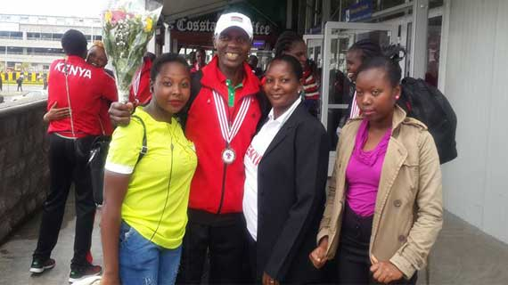 Triumphant return for African Bronze medalists Kenya Prison