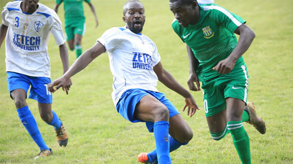 Zetech humble UON in Shield Cup action
